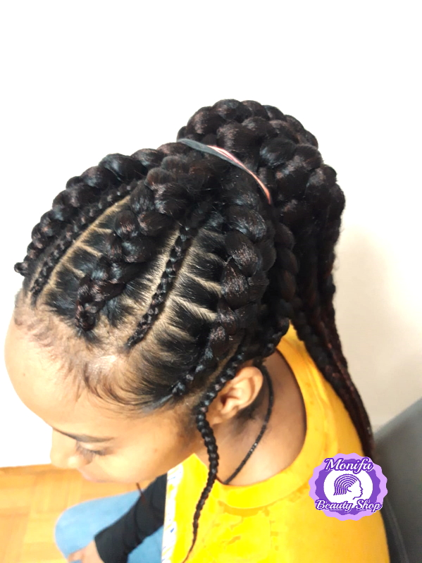 Monifa Beauty Shop-Home-Cornrows-schwarz-Kundenfoto-2v.8