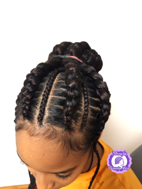 Monifa Beauty Shop-Home-Cornrows-schwarz-Kundenfoto-3v.8 (2)